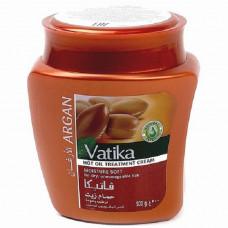 Бальзам-маска с Арганом Ватика - для сухих волос и крашенных волос (Vatika), 500 мл