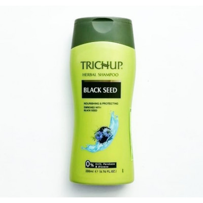 Шампунь с чёрным тмином Тричуп - для  роста волос (Trichup Black Seed), 200 мл