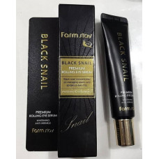 Премиальный крем для глаз с муцином черной улитки FarmStay Black Snail Premium Eye Cream, 25 мл