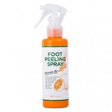 Пилинг для ног (Graphico Foot Peeling Spray Orange Oil ЯПОНИЯ),110 мл