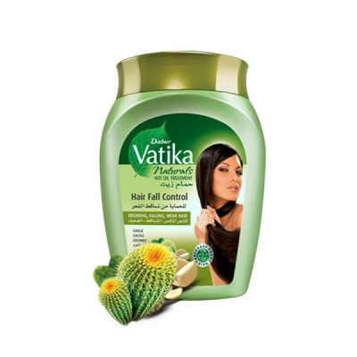 Бальзам-маска Ватика с кактусом - полное восстановление волос (Vatika), 500 мл