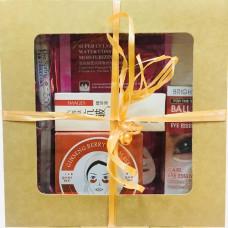 Подарочный набор для женщин с 6 пептидами и женьшенью