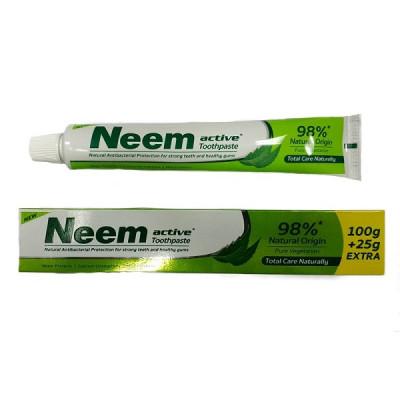 Зубная паста «Ним» - эффективно борется с кариесом и кровоточивостью (NEEM TOOTH PASTE), 125 гр