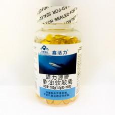 Акулий жир - восстановление организма (Китай), 100 капсул