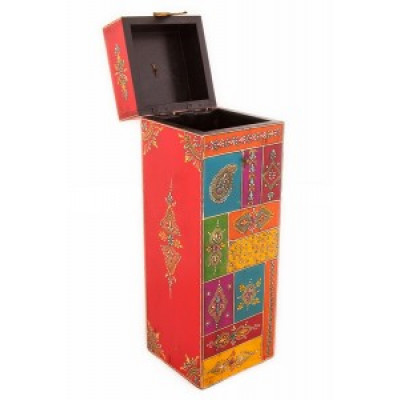Футляр для бутылки (дерево, роспись) Индия