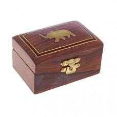 """Шкатулка деревянная """"Слон"""", Индия"""