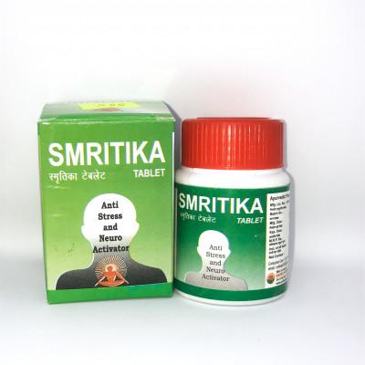 Таблетки для памяти и при стрессе SMRITIKA, 60 табл.