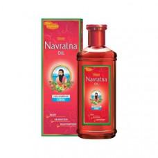 МАСЛО ХИМАНЕ NAVRATNA - охлаждает, успокаивает, предотвращает выпадение волос (HIMANI NAVRATNA OIL), 100 мл