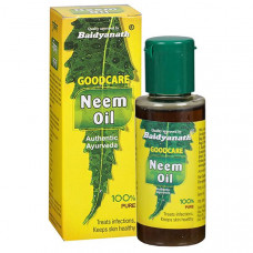 Масло Нима от кожных заболеваний (Neem Oil BAIDYANATH, GoodCare), 50 мл.
