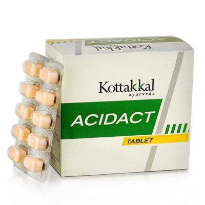 Ацидакт - нормализации повышенной кислотности желудка (Acidact, Kottakkal), 100 табл