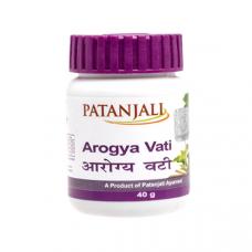 Агорья Вати Патанджали растительный антибиотик (Arogya Vati, Patangali), 80 таб