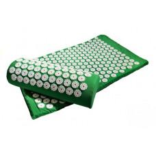 Акупунктурный набор аппликаторов Кузнецова валик+коврик, зеленый