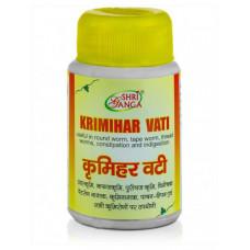 КРИМИХАР ВАТИ - антипаразитарное средство, Шри Ганга (KRIMIHAR VATI, Shri Ganga), 50 шт.