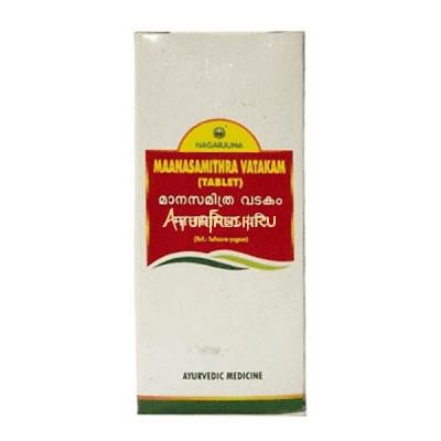 Манасамитра Ватакам - для лечения нервных и психических заболеваний, 100 Tablets