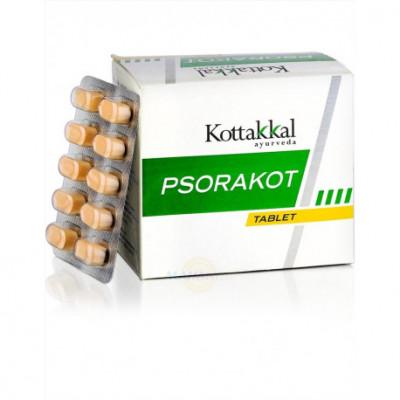 """""""Псоракот"""" - от псориаза и кожных болезней Коттаккал Аюрведа (Psorakot Kottakkal Ayurveda) 100таб."""