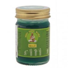 Зеленый тайский бальзам от боли в суставах и мышцах (Beelle Mho Shee Woke), 50гр.