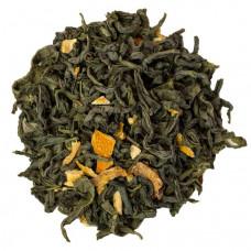 Зеленый чай Сладкий Апельсин 100 грамм