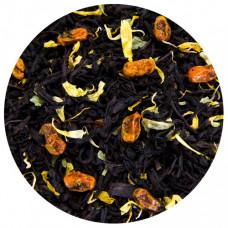 Черный индийский чай с облепихой 100 гр