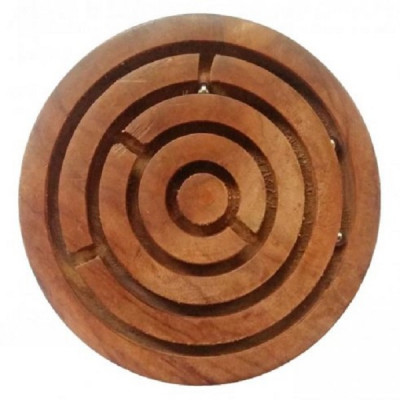 "Сувенир-игра ""Лабиринт"" из дерева, Индия"