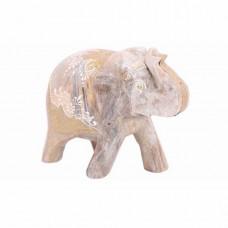 """Статуэтка """"Слон"""" дерево, ручная роспись, Индия"""
