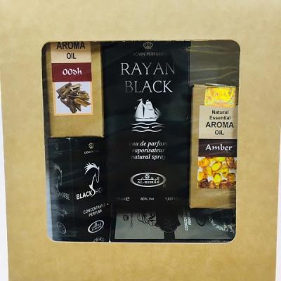 Подарочный набор Мужские арабские духи + Эфирные масла