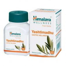 Яштимадху (Yashtimadhu Himalaya)-лечения печени, желчной системы 60 Таблетки.