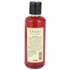 Кхади Шампунь Сатритха-активно стимулирует рост, делает гладкими, шелковистыми, успокаивает и охлаждает волосы. Shampoo Satritha khadi 210 мл