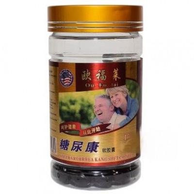 Капсулы для снижения сахара в крови Saccharorrhea kang soft capsule Ou Fu Lai