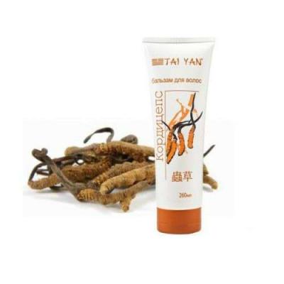 Бальзам для волос Кордицепс ТМ TaiYan - предотвращает выпадение волос, 260 мл.