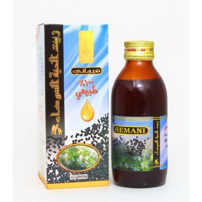 Масло черного тмина- Омега-6 и Омега-9, мощныйиммуномодулятор, улучшает обмен веществ, выводит токсины.Hemani, 125 мл