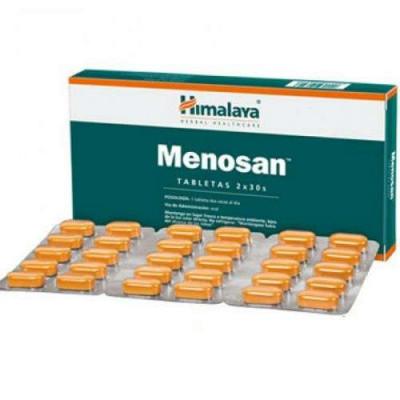 Menosan Himalaya Herbals Меносан Хималаи Хербалс- облегчение периода менопаузы, 60 Таблетки.
