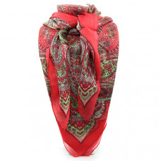 Платок из натурального индийского шелка