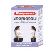 Медохар Гуггул - для снижение веса (Medohar Guggulu, Baidyanath), 120 таб.