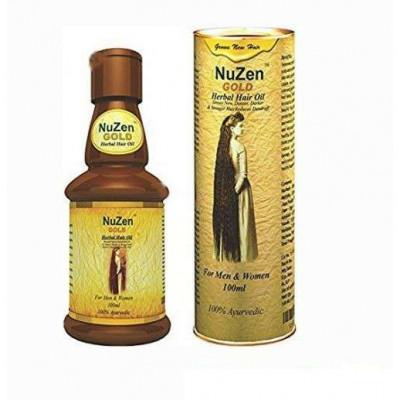 Масло от облысения и роста волос NuZen золото (Hair oil NuZen Gold)