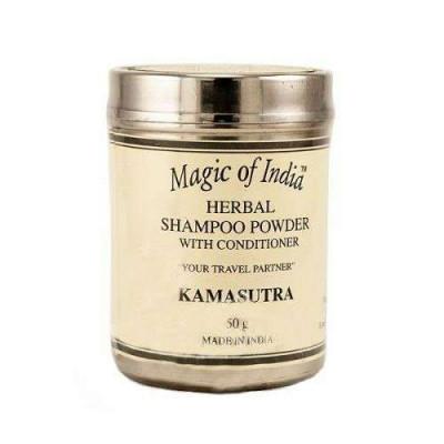 Сухой шампунь — укрепляет корни волос и восстанавливает структуру волоса по всей длине. (Kamasutra) Magic of India