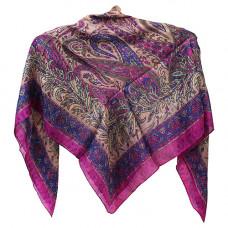 Платок, индийский шелк натуральный
