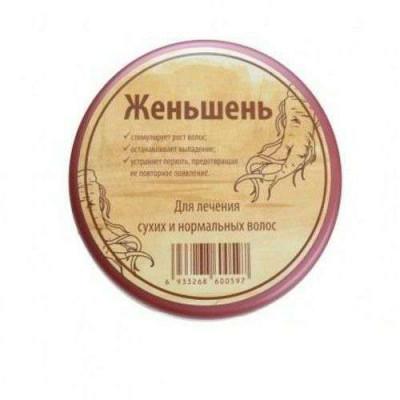 Маска-бальзам для волос Женьшень-от выпадения волос,  TaiYan, 250 мл