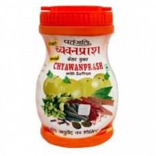 Чаванпраш с шафраном, Патанджали 500 гр,  (Chyawanprash Patanjali)