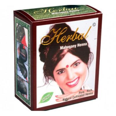 Хна для волос Красное дерево Herbal Henna 6 пакетиков по 10 гр.