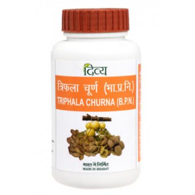Трифала чурна, 100 г, Дивья (Triphala Churna Divya Pharmacy)