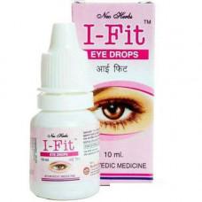 Глазные капли Ай-фит, 10 мл I-FIT Neo Herbs Pharma - улучшает течение внутриглазной жидкости