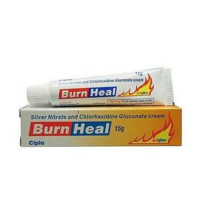 Крем от ожогов Burn heal- быстро снимает боль,быстро восстанавливает поврежденные от ожогов частицы тела, 15 гр.