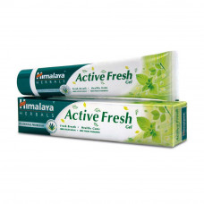 Зубная паста Himalaya Herbal Active Fresh Gel Toothpaste - паста-гель для свежего дыхания и здоровья полости рта. 80 гр