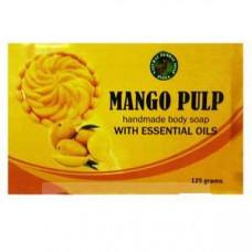 Натуральное травяное мыло «Манго» Mango Pulp, 125 гр