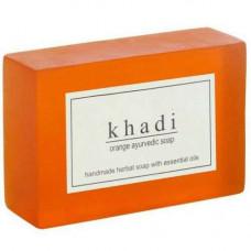Натуральное мыло Апельсин, 125 г Кхади