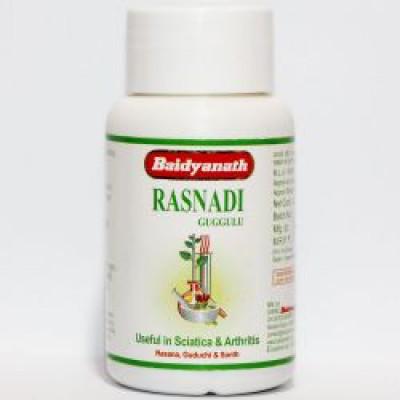 Раснади Гуггул - лечение и укрепление суставов (Rasnadi Guggulu Baidyanath) 80 таб.