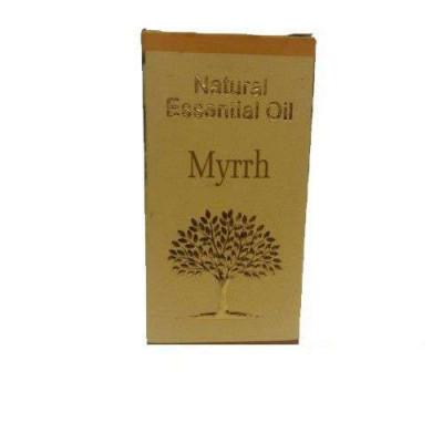 «Мирра» 100% эфирное масло Shri Chakra (10 мл)