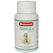 Трифала Гуггул - очищения организма, (Triphala guggulu, Baidyanath) 80 табл