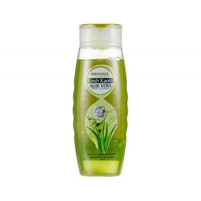 Шампунь Алое Вера- очищает, увлажняет, увеличивает силу и блеск волос (Patanjali Kesh kanti Aloe Vera) 200 мл