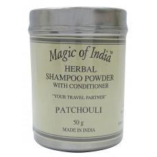 Сухой шампунь Patchouli. 50гр. Magic Of India